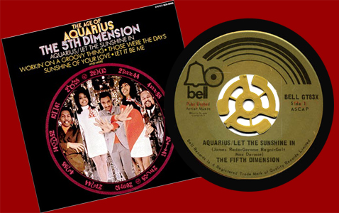 "The Fifth Dimension, ""Aquarius/Let The Sunshine"""