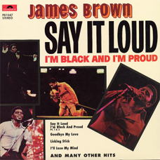 "James Brown, ""Say It Loud"""